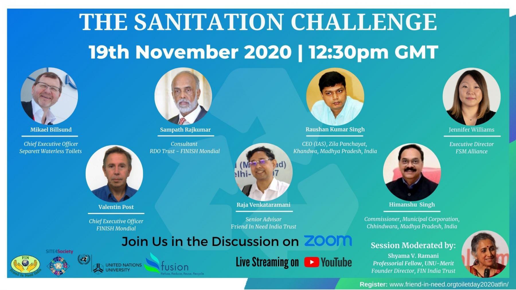 World Toilet Day 2020 Program Posters
