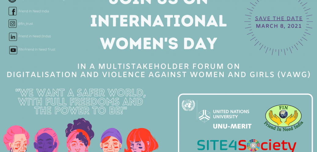 International Women's Day Event: Digitalisation and Violence Against Women and Girls (VAWG)
